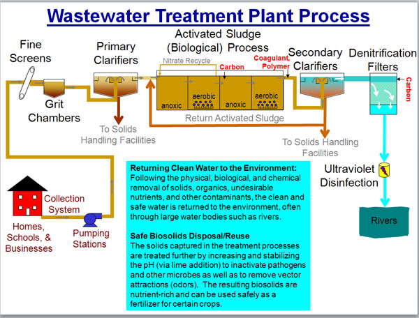 Waste Water Treatment Plants Techniques